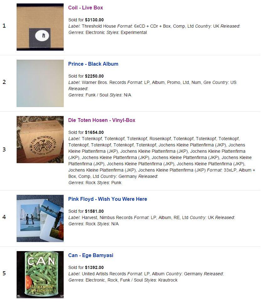 September Discogs
