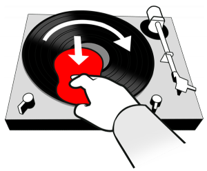 Mit dem RecordButler die Schallplatte reinigen