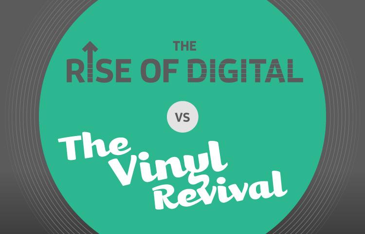 The rise of digital vs. The Vinyl revival