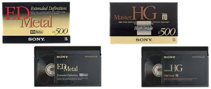 Betamax Videokassetten