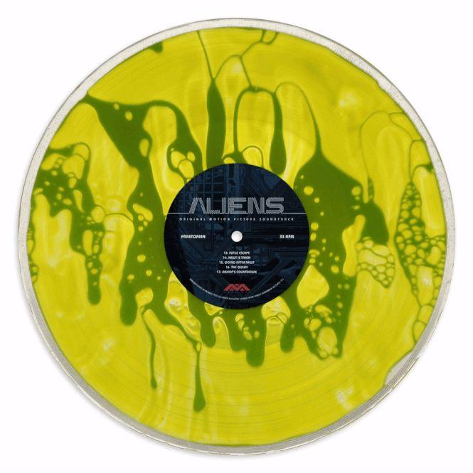 GIF Alien Soundtrack, Liquid Record. Bild: Mondo