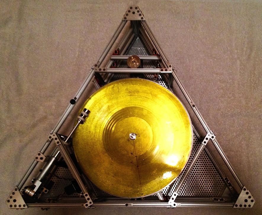 Schallplattenspieler The Icarus Craft - Bild: Foto: Third Man Records