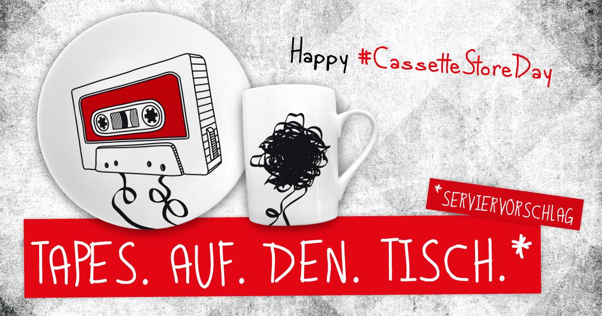 tellerundtasse wünscht einen tollen Cassettestoreday