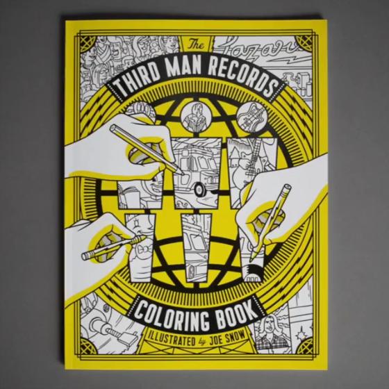 Malbuch von Third Man Records